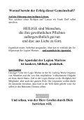 Die LEGIO MARIAE - Katholische Pfarrei Vilseck St. Ägidius - Page 2