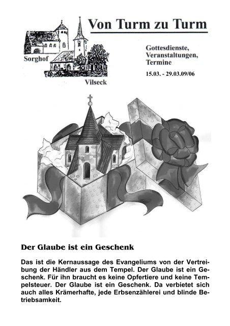 Pfarrbrief 06 q - Katholische Pfarrei Vilseck St. Ägidius