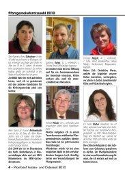 Pfarrgemeinderatswahl 2010 - Katholische Gemeinde ...