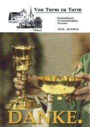 Verbesserter Pfarrbrief 21 - Katholische Pfarrei Vilseck St. Ägidius
