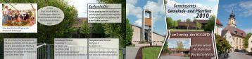 Gemeinsames Gemeinde- und Pfarrfest - Katholische Gemeinde ...