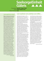 Ausgabe 13/2013 - Pfarreiforum