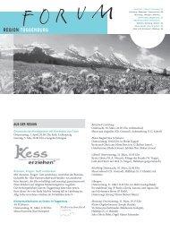 Ausgabe 5/2013 - Pfarreiforum