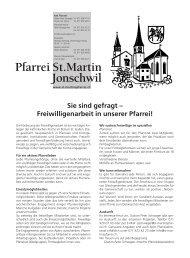 Ausgabe 6/2013 - Pfarreiforum