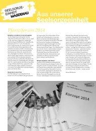 Ausgabe 17/2013 - Pfarreiforum