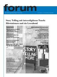 Ausgabe 16/2013 - Pfarreiforum