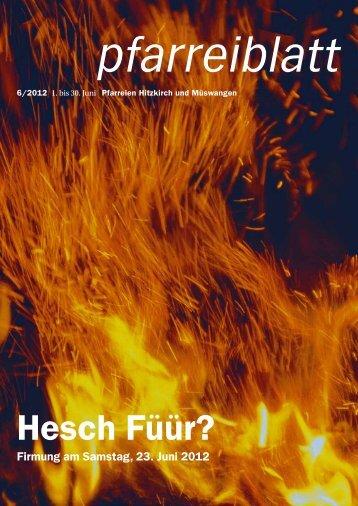 2012-06 Juni.pdf - Pfarrei Hitzkirch