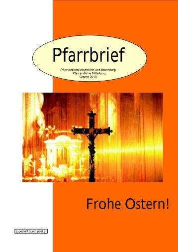 Ostern 2010 - Pfarrkirche Mayrhofen und Brandberg