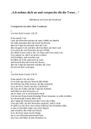 Bibeltexte zur Hochzeit.pdf - Pfarre Oberndorf an der Salzach