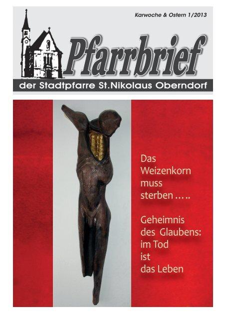 Geheimnis des Glaubens - Pfarre Oberndorf an der Salzach