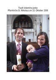 Fotos Taufe Valentina Janke 10.10.09 (PDF) - Pfarre Oberndorf an ...