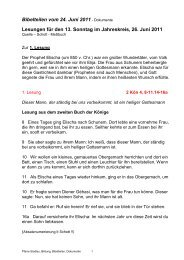 Bibelteilen vom 24. Juni 2011 - 22., Pfarre Stadlau