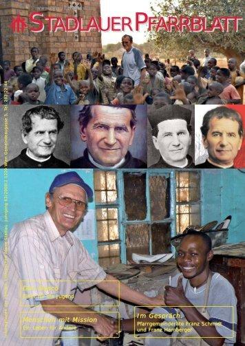 Don Bosco: Einer für die Jugend Menschen mit Mission - 22., Pfarre ...