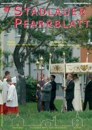Fronleichnam - Demo für Gott Im Gespräch - 22., Pfarre Stadlau