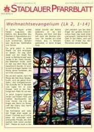 Im Gespräch: Asta Weidinger (Caritas) - 22., Pfarre Stadlau