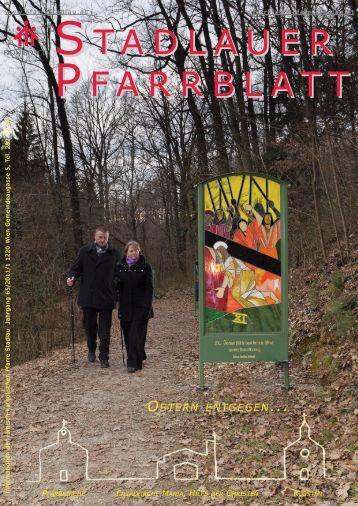 Pfarrblatt 2011/1 - 22., Pfarre Stadlau