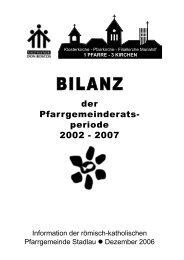PGR-Bilanz 2002-2007 - 22., Pfarre Stadlau