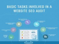 Basic Tasks involved in a Website SEO Audit