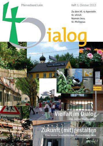 Vielfalt im Dialog Zukunft (mit)gestalten - Pfarrverband Laim