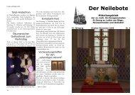 Der Neilebote Oktober - November 2008 - pfarrverband-lutter.de