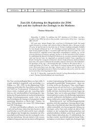 Zum 225. Geburtstag des Begründers der ZSM - Verlag Dr. Friedrich ...