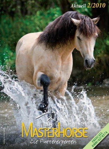 MH Beileger 2_2010 code Bel.indd - Die Pferdefutterexperten