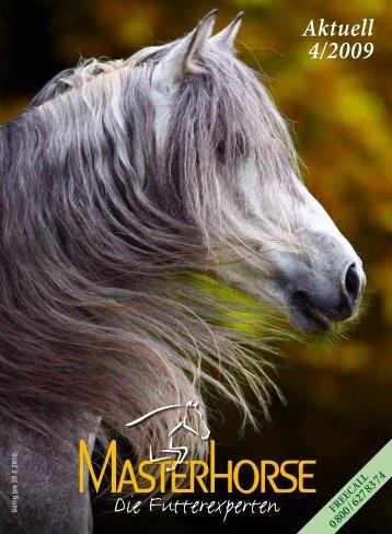 Aktuell 4/2009 - Die Pferdefutterexperten