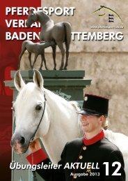 Übungsleiter - Pferdesportverband Baden-Württemberg