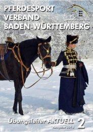 Ausgabe 02/2013 - Württembergischer Pferdesportverband eV