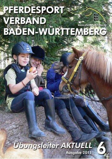 Ausgabe 06/2011 - Verband der Pferdesportvereine Nordbaden