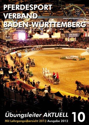 Ausgabe 10/2012 - Württembergischer Pferdesportverband eV