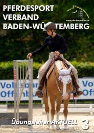 Ausgabe 03/2011 - Verband der Pferdesportvereine Nordbaden