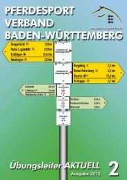 Februar 2012 - Reiterring Badische Pfalz eV