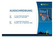 AUSSCHREIBUNG - Landesverbandes Pferdesport Sachsen