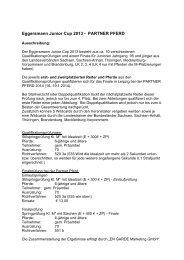 Eggersmann Junior Cup 2013 - Landesverbandes Pferdesport ...