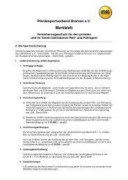 ARAG Merkblatt zum Versicherungsschutz für den privaten und im ...