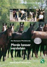 Basispass Pferdekunde - Pferdesportverband Bremen