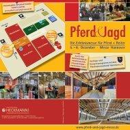 Pferd & Jagd2013 – Info Vorträge-Seminare - Pferdesportverband-MV