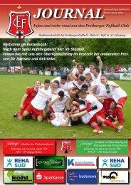 FFC-Journal, Heft 16, SV 08 Kuppenheim