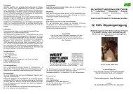 22. SVK- Hippologentagung - Pferdewissenschaften