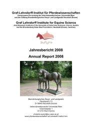 Jahresbericht 2008 des Graf-Lehndorff-Instituts