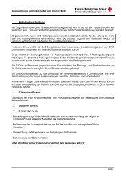 Dienstordnung für Einsatzleiter vom Dienst (Evd) - DRK ...