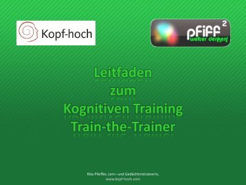 Leitfaden Train-the-Trainer - PFIFF