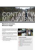 CONTACT WIRE LASER MEASuRING DEVICE - Pfisterer - Page 2