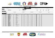 1st FIS - OPA Continental Cup 2010-2011 Individual - Classic Results