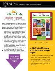 Teacher Planner - Pflaum Home
