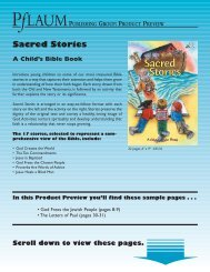 Sacred Stories - Pflaum Home