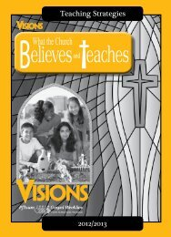 What the Church Believes and Teaches - Pflaum Gospel Weeklies