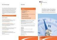 Förderberatung Forschung und Innovation des Bundes - Deutsche ...