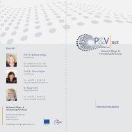 Netzwerkflyer! - Netzwerk - Pflege und Versorgungsforschung